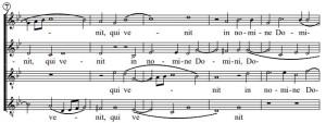 バードの4声のミサ曲より「ベネディクトゥス」