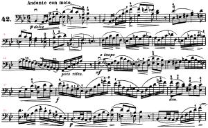 ドッツアウアー 113の練習曲よりNo.42