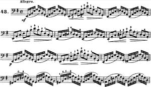 ドッツァウアー113 の練習曲から No.44