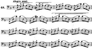 ドッツアウアー 113の練習曲よりNo.48