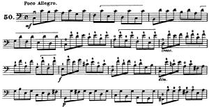 ドッツアウアー 113の練習曲よりNo.50