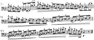 ドッツアウアー 113の練習曲よりNo.51
